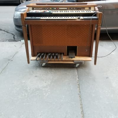 Hammond Super Dolphin  1977 Natural Wood Finish