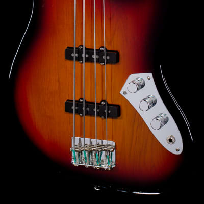 Fender Jaco Pastorius Tribute Jazz Bass Fretless 3-Color Sunburst (039) for sale