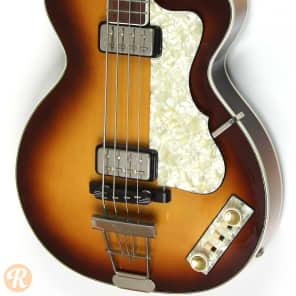 Hofner Club Bass H500/2 Sunburst