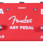 Fender Guitar Amplifier Amp Switcher Footswitch ABY Stomp Box Pedal, Red image