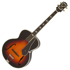 Epiphone De Luxe Classic Acoustic Electric Bass, Vintage Sunburst for sale