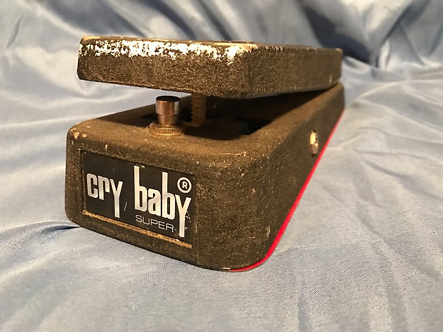 Jen Cry Baby Super Wah With Mod Guitar Pedal | Reverb