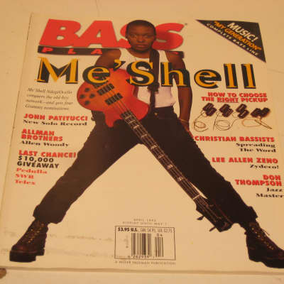 2007 Bass Player Me' Shell Ndege'Ocello John Patitucci Lee Allen Zeno Allen Woody Ruth Davies