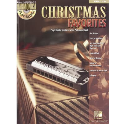 Christmas Favorites - Harmonica Play-Along Volume 16