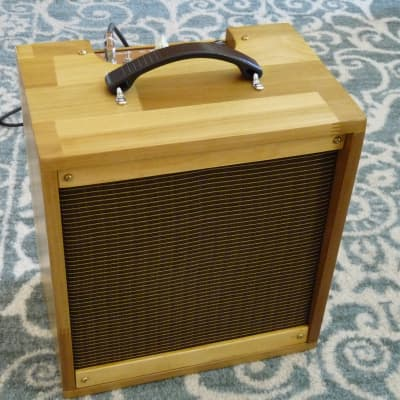 """Hand-Wired Amp, Modified Fender Champ 5F1 Circuit, 1 X 8"""" Jensen C8R"""