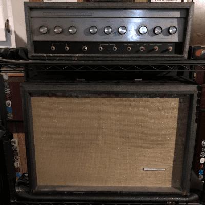 Silvertone Silvertone 1484 Twin Twelve Tube Guitar Amp   1960's