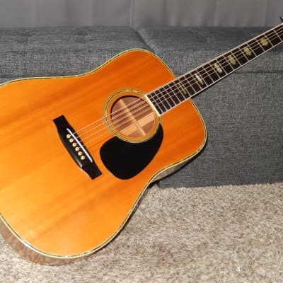 MADE IN JAPAN 1974 - MORALES BM 25DH - SIMPLY AMAZING - MARTIN D45 STYLE - ACOUSTIC GUITAR for sale