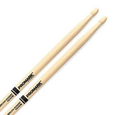 "Promark Hickory 747 ""Rock"" Wood Tip Drumstick"