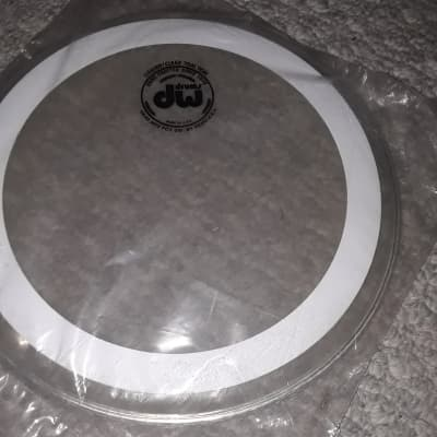 Remo  10 Inch DW Series  Clear White Stripe drumhead