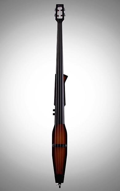 stagg edb 3 4 electric upright double bass violin burst w reverb. Black Bedroom Furniture Sets. Home Design Ideas