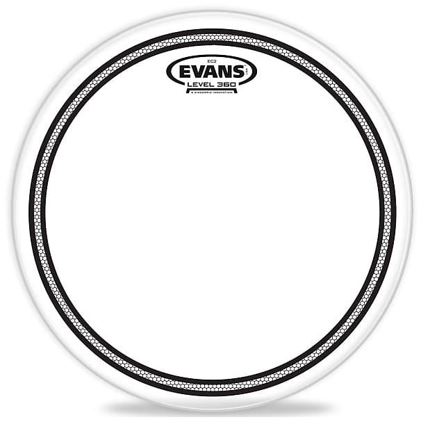 evans b14ec2s 14 ec2 coated drum head with sound reverb. Black Bedroom Furniture Sets. Home Design Ideas