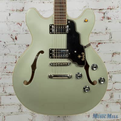 Guild Starfire IV ST FM Alpine Green Semi-hollowbody 3792110857 MSRP $1710 for sale