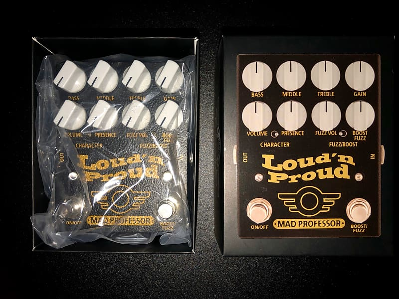 Fuzz Pedal Mad Professor Loud/' n Proud Overdrive