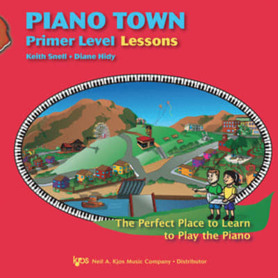 Piano Town, Primer Level: Lessons