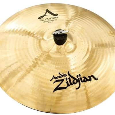 "17"" Zildjian A Custom Series Medium Crash Cymbal A20827"