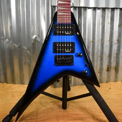 Jackson JS1X Randy Rhoads Minion Electric Guitar  Metallic Blue Burst - Floor Model for sale