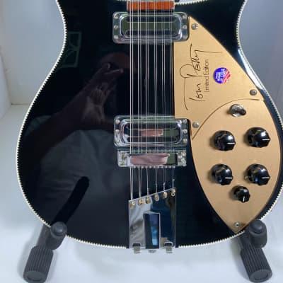 Rickenbacker 660/12TP Tom Petty 1992 Jetglo (glass black) for sale