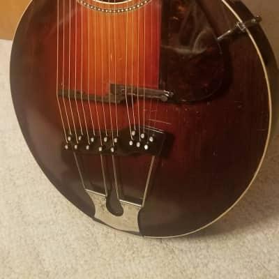 Gibson Style U Harp Guitar  1915