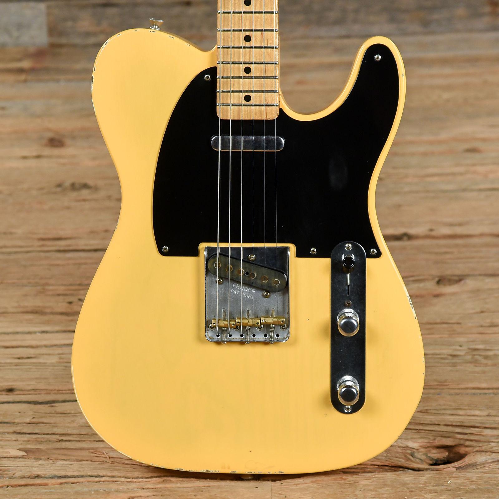 Fender Road Worn 50s Telecaster Blonde 2016 S892
