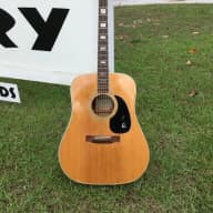 <p>Epiphone FT-550 Acoustic Guitar Norlin Made in Japan 3 piece back early 70&#039;s  Natural</p>  for sale