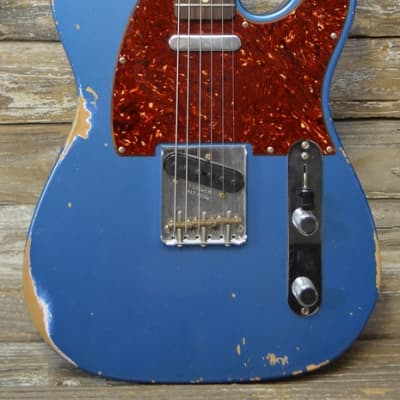 Used 2017  Fender Custom Shop '60s Relic Telecaster - Aged Lake Placid Blue for sale