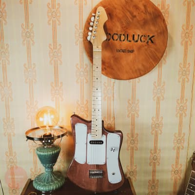Formanta-Mini Travel Electric Guitar Rare Exclusive Strat Paul Jaguar Jazz Short Scale for sale
