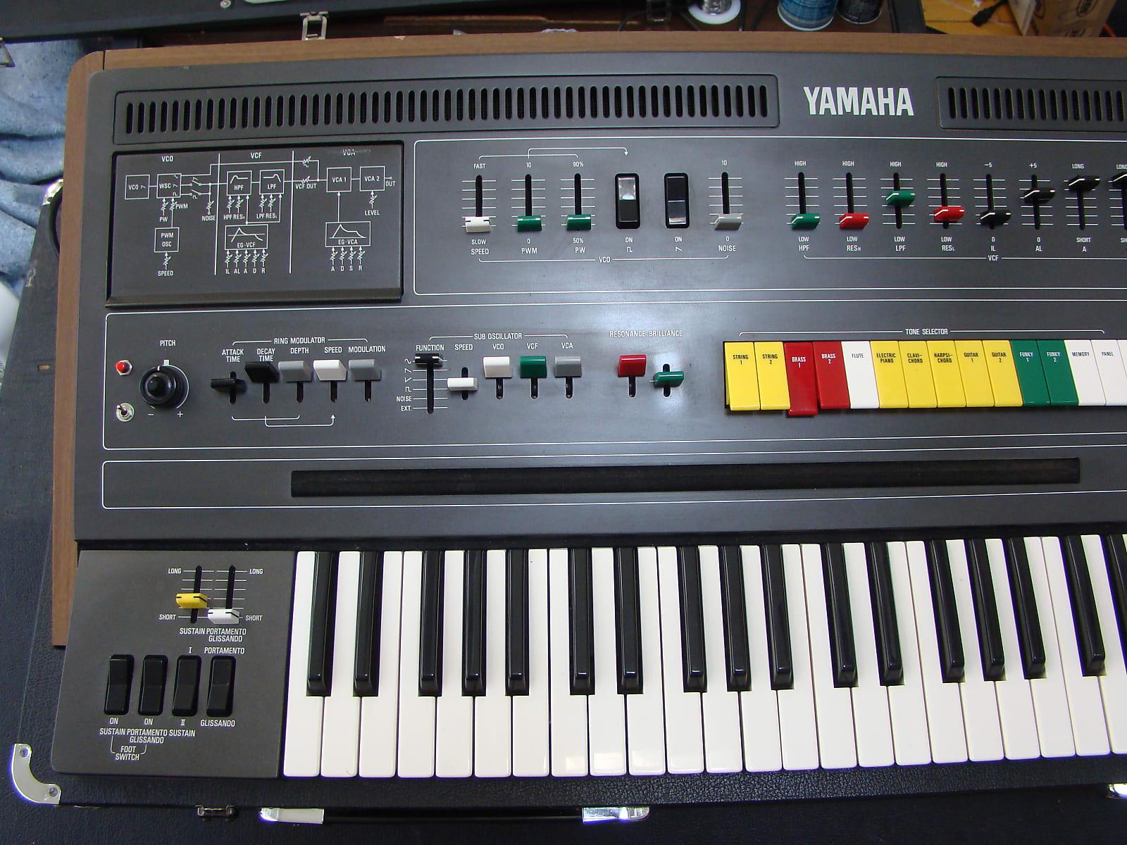 Yamaha CS-60 with MIDI