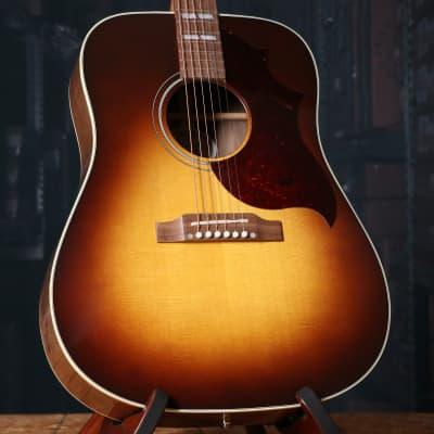 Gibson Hummingbird Studio Walnut Acoustic Electric Guitar in Walnut Burst