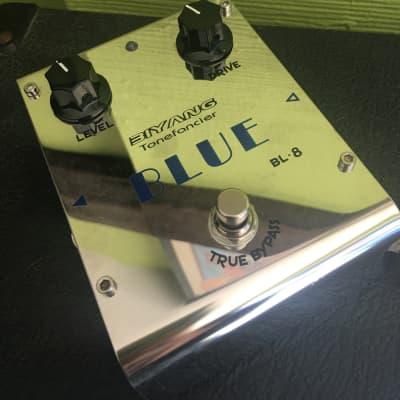 Biyang Tonefancier BL-8 Blue Overdrive for sale