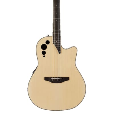 Applause AE44II-4 Elite Mid Depth Acoustic Electric Guitar - Natural - Open-box for sale