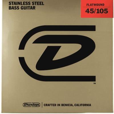 Dunlop Jim Dunlop Bass Flatwound Long Scale 45/105-4 set