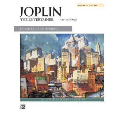 Joplin: The Entertainer for the Piano (Original Edition)