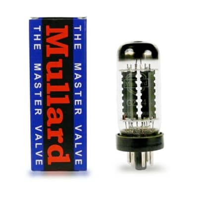 Mullard GZ34 / 5AR4 Premium Rectifier Tube. New with Full Warranty!