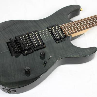 ESP LTD M-100 FM Trans black flamed maple for sale