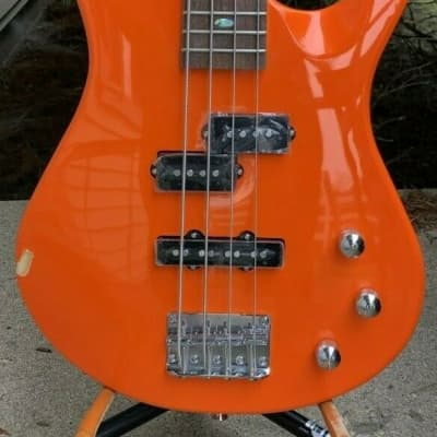 Mitchell MB100OR Short Scale Solid Body Electric Bass Guitar for sale
