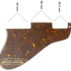 Allparts Tortoise Pickguard for Gibson ES-335 Hollowbody Guitar for sale