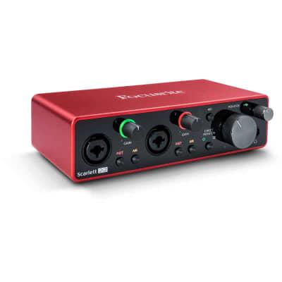 Focusrite Scarlett 2i2 USB Audio Interface (3rd Generation)