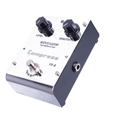 Biyang ToneFancier CO-8 Compress Electric Guitar Effect Analog Compressor Pedal True Bypass With gol