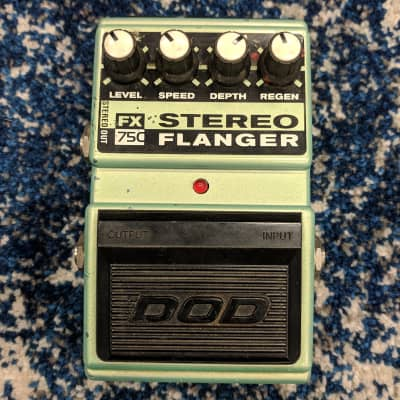 DOD FX75C Stereo Flanger Pedal for sale
