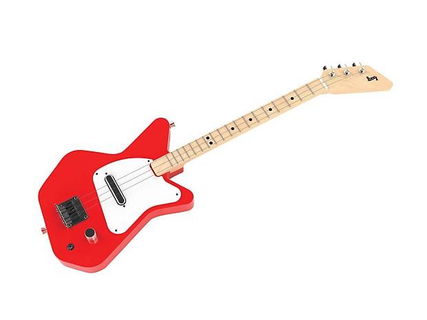 loog pro 3 stringed electric guitar red reverb. Black Bedroom Furniture Sets. Home Design Ideas