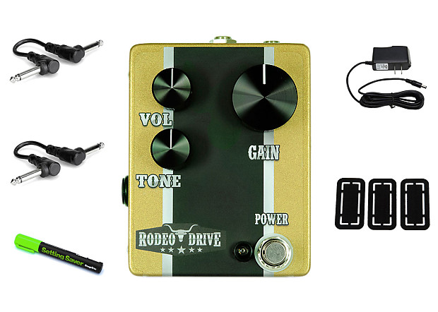 6 Degrees Fx Rodeo Drive Overdrive Prymaxe Pedal Bundle