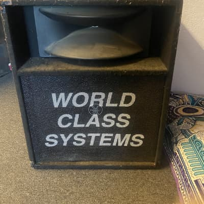World Class System Speakers World class system