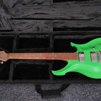 KOLOSS X6 Aluminum body electric guitar Satin Green for sale