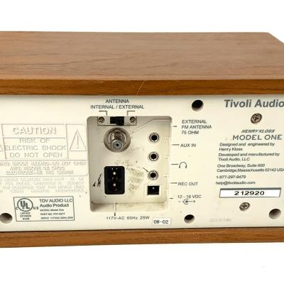Tivoli Audio Model One 1 AM/FM Radio