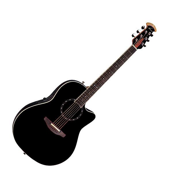 ovation 1771 lx standard balladeer acoustic electric guitar reverb