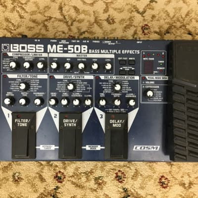 Used Boss ME-50B BASS MULTI EFFECTS for sale