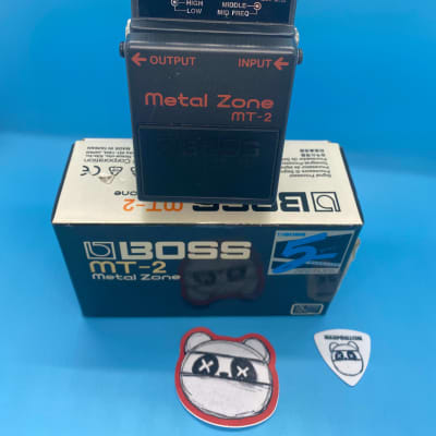 Boss MT-2 Metal Zone Distortion w/Original Box | Fast Shipping!