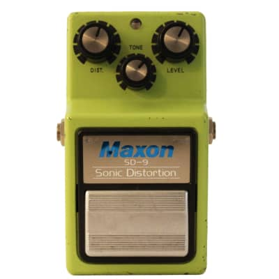 Maxon SD-9 Sonic Distortion - Original Vintage 1980's