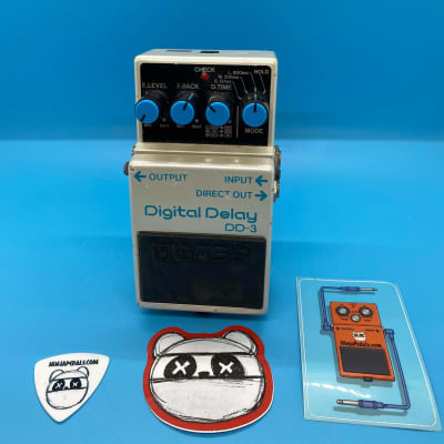 Boss DD-3 Digital Delay | Rare (Pink Label) Feb 1999 | W/Original Box | Fast Shipping!