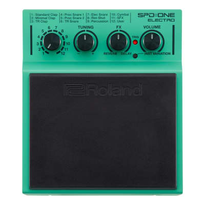 Roland SPD-1E SPD:ONE Electro Percussion Pad - With Mounting Clamp